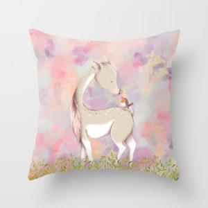 baby-deer-with-bird-pillows