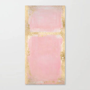 pink-and-gold-abstract-art-painting