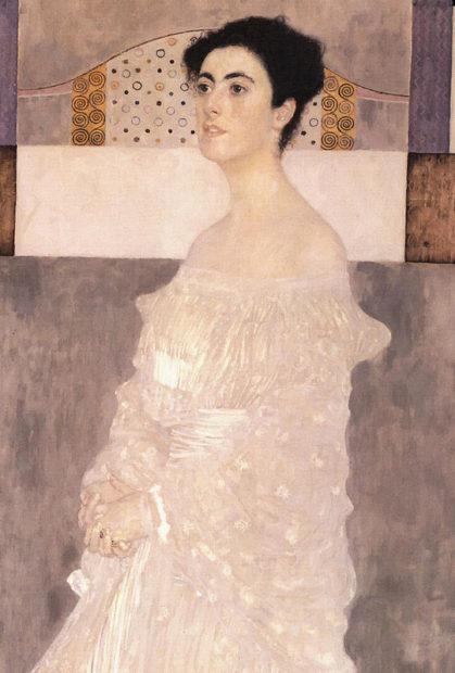 Gustav Klimt Portrait Of Margaret Stonborough-Wittgenstein