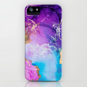 purple-blue-and-gold-metallic-abstract-watercolor-art-cases