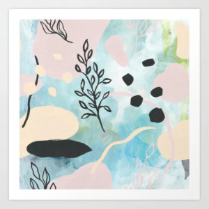 spring-vibes-modern-abstract-art-color-shapes-painting-prints